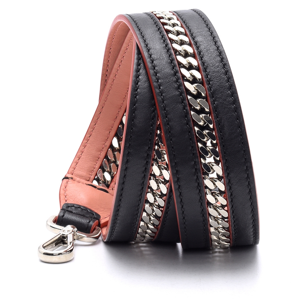 Fendi - Black Chain Detail Bag Strap