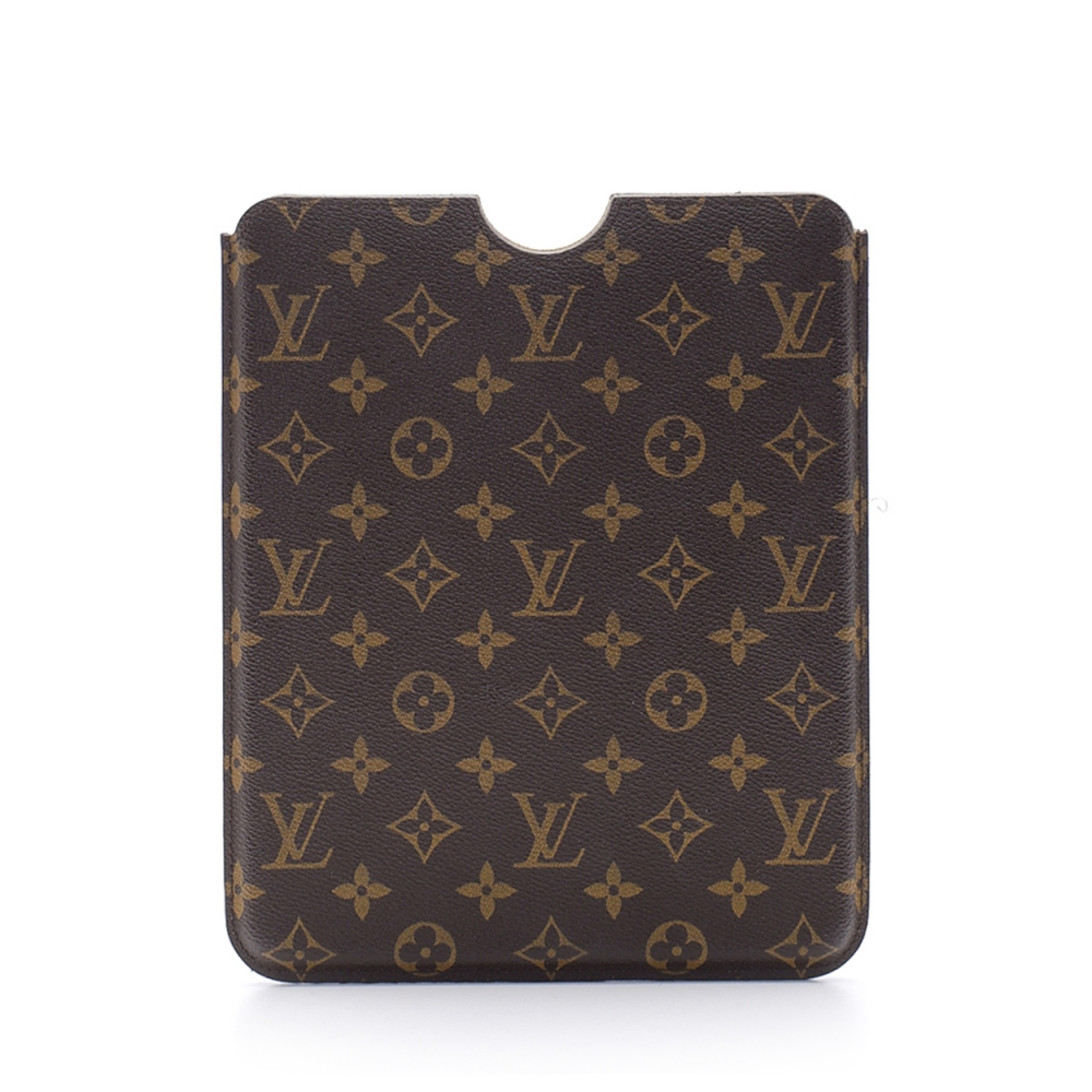 Louis Vuitton - Monogram Canvas Leather Ipad Case
