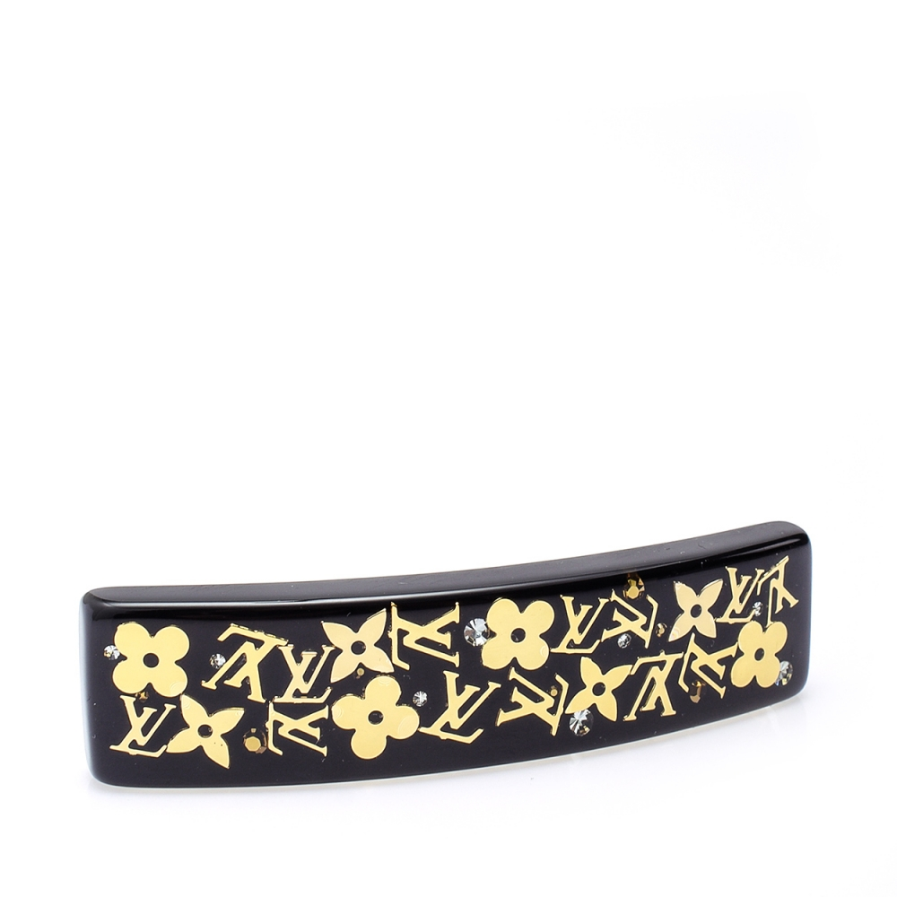 Louis Vuitton - Black Barrette Inclusion Gm Hair Clip