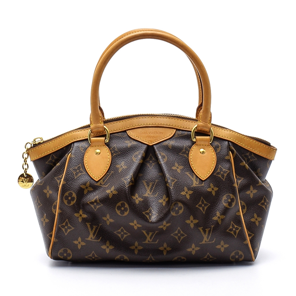 Louis Vuitton - Monogram Canvas Leather Tivoli Pm Bag