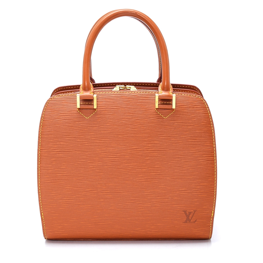 Louis Vuitton - Tabac Epi Leather Pont Neuf Top Handle Bag