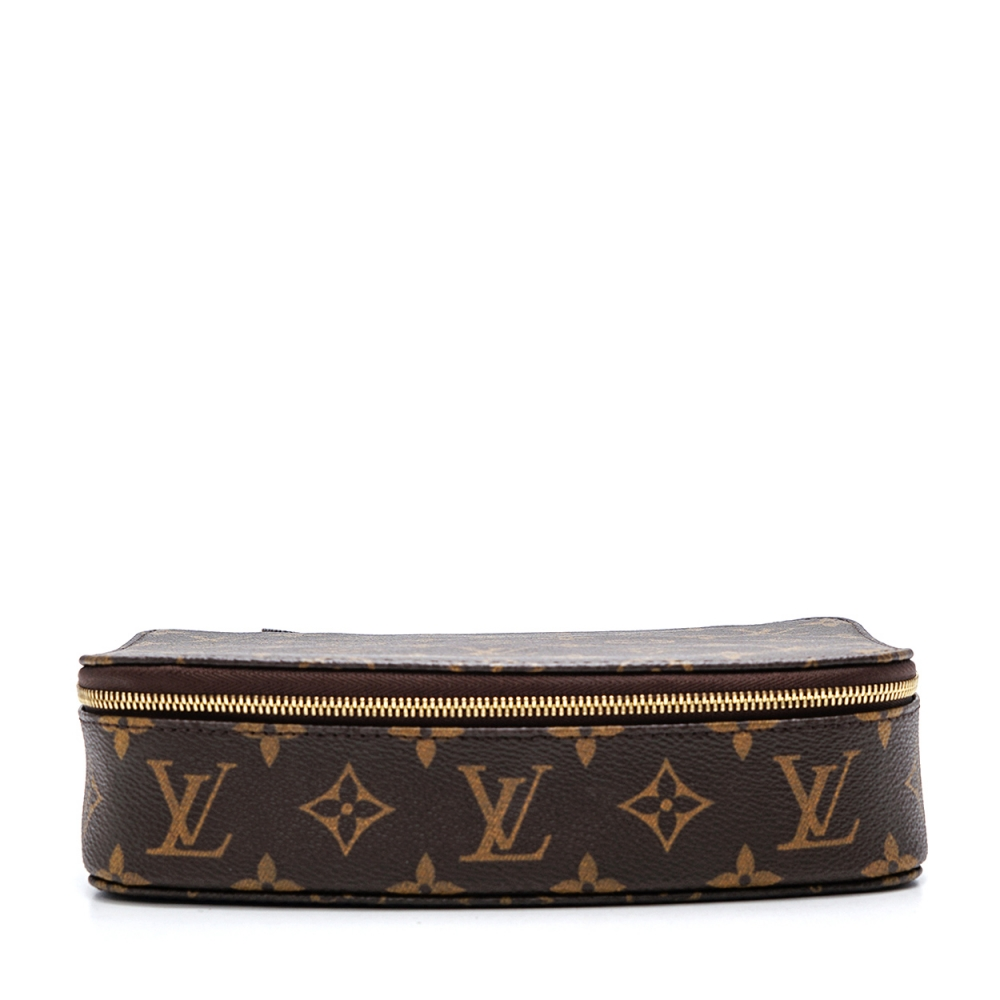 Louis Vuitton - Monogram Canvas Leather Monte Carlo   Jewelry Case