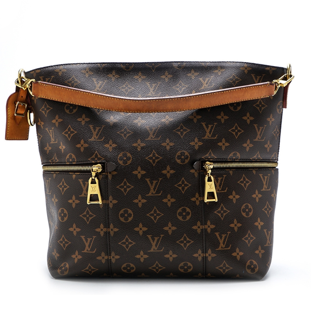 Louis Vuitton - Monogram Canvas Leather Melie  Bag