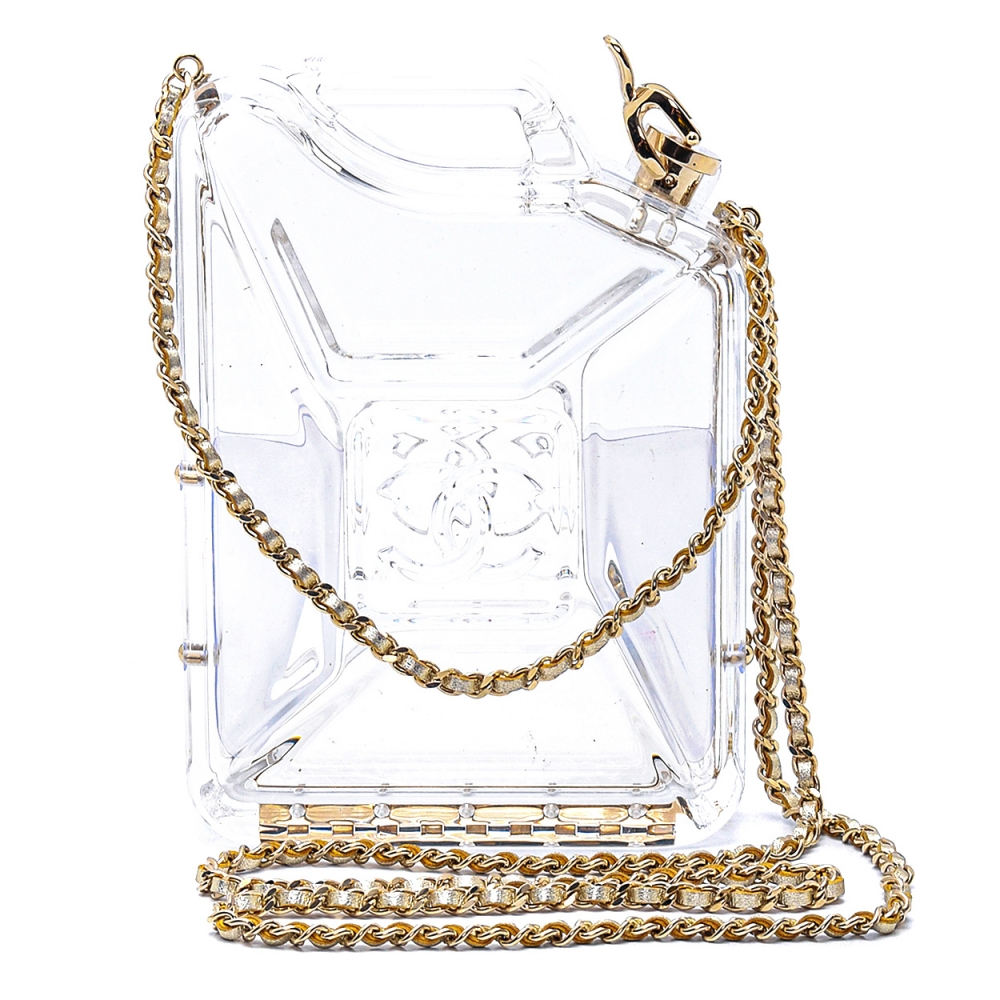 Chanel - Jerry Can Clear Plexi Limited Edtion Bag