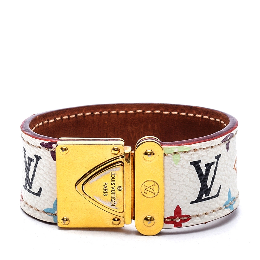 Louis Vuitton - Multicolor Leather  Bracelet