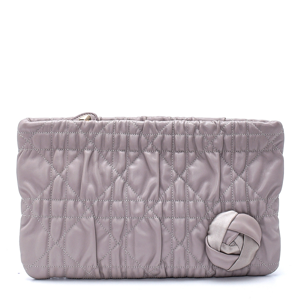 Christian Dior - Lilac Delices Lambskin Leather Clutch