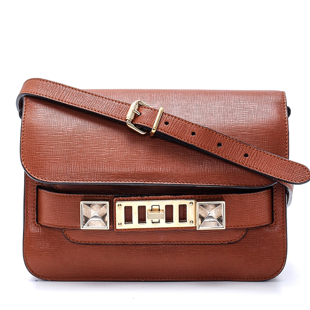 Proenza Schouler - Brown Leather Ps11 Satchel  Bag