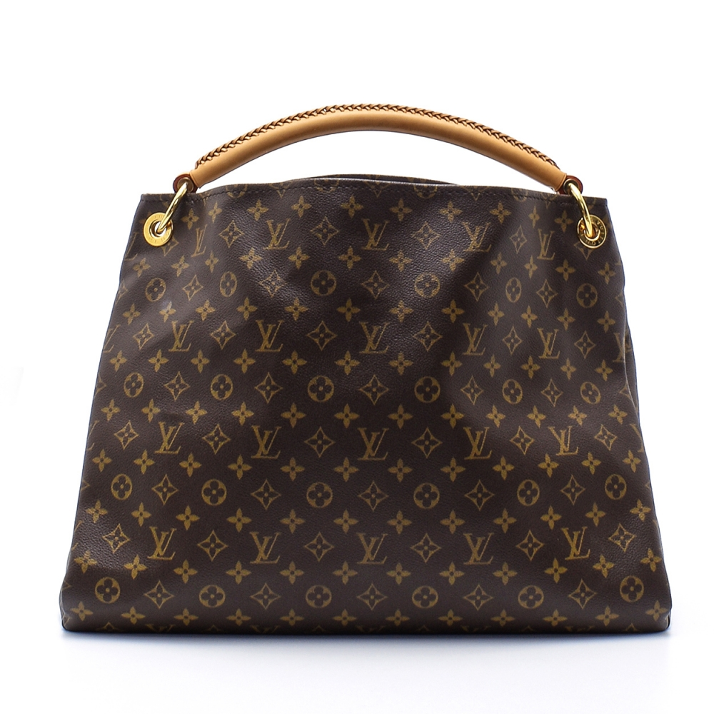 Louis Vuitton - Monogram Canvas Leather Artsy Gm Bag