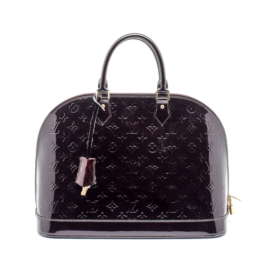 Louis Vuitton - Monogram Vernis Alma Amarante Gm Bag